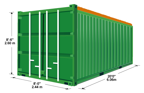 20 Open Top Container New Containerstrade
